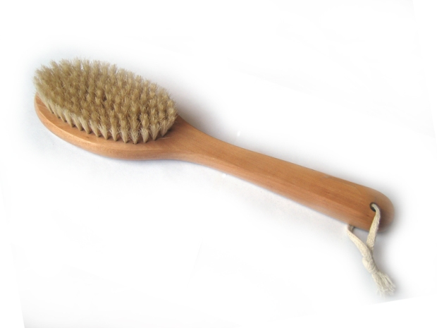 bathbrush spanking