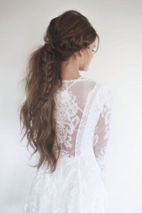 t8o7s5-l-610x610-dress-white+dress-hipster+wedding-wedding+dress-hairstyles-lace-hair+makeup+inspo-wedding+hairstyles-lace+dress-white-summer+dress-beauty-beautiful-romantic-hair-braid-ponytail-dat